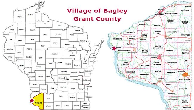 Village of Bagley, Grant County, Wisconsin